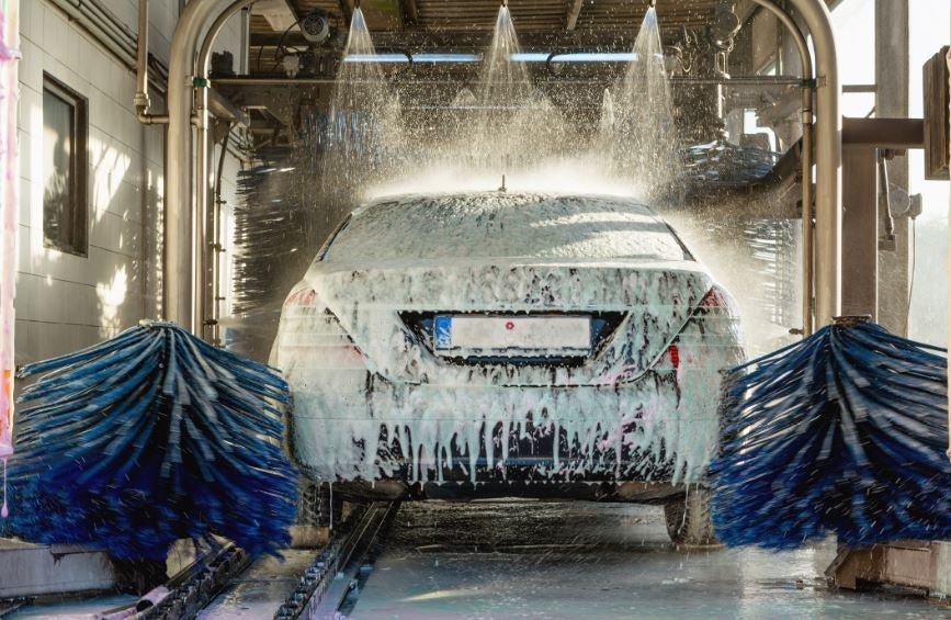 Consejos para lavar el coche.