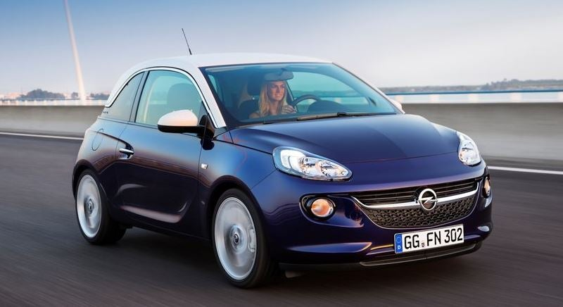 Exterior del Opel Adam.