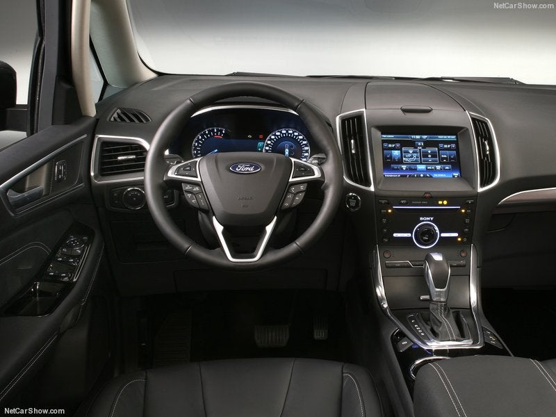 Ford Galaxy: interior