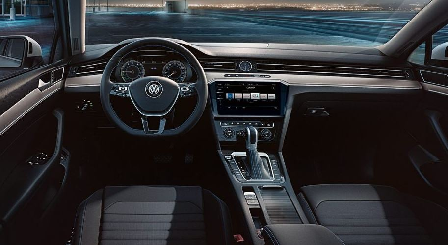 Interior del nuevo Volkswagen Passat.
