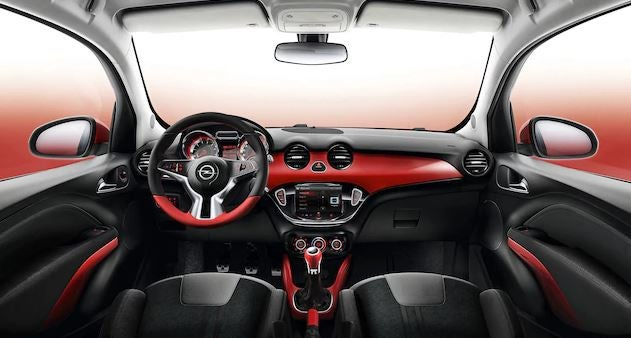Interior del Opel Adam.
