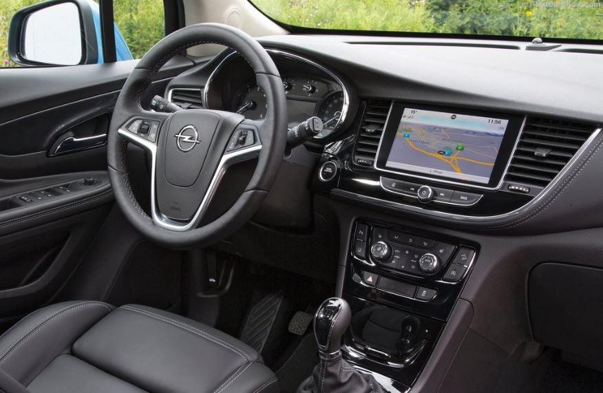 Interior del Opel Mokka X.