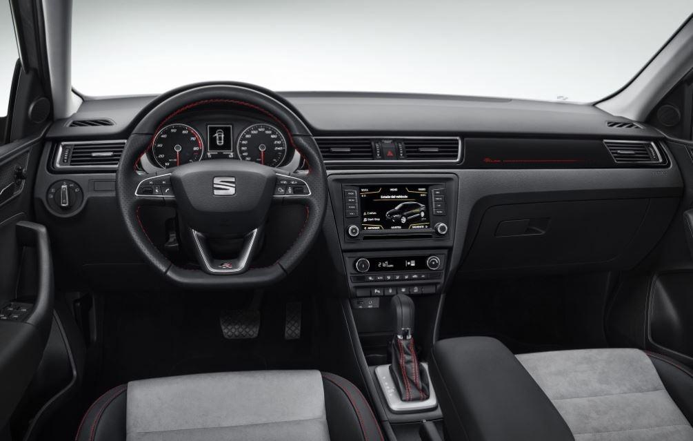 Interior del SEAT Toledo.