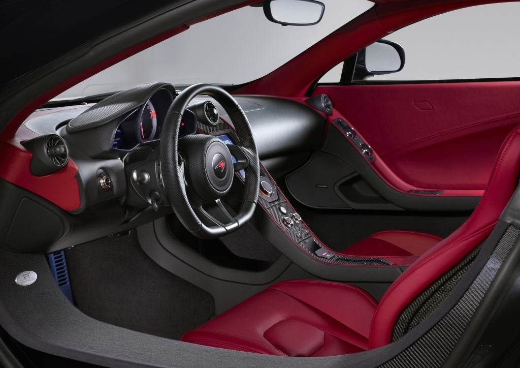 McLaren X-1: interior