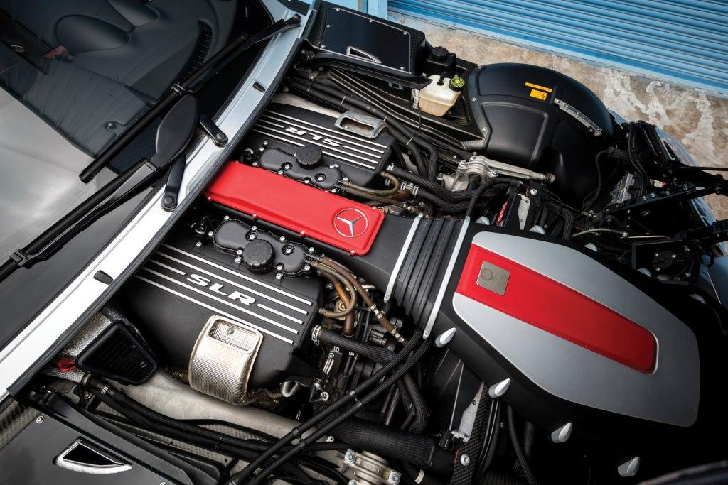 Mercedes SLR McLaren: motor