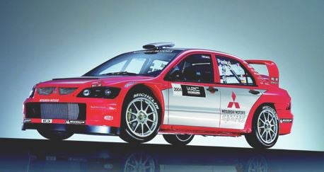 Mitsubishi Lancer Rally.