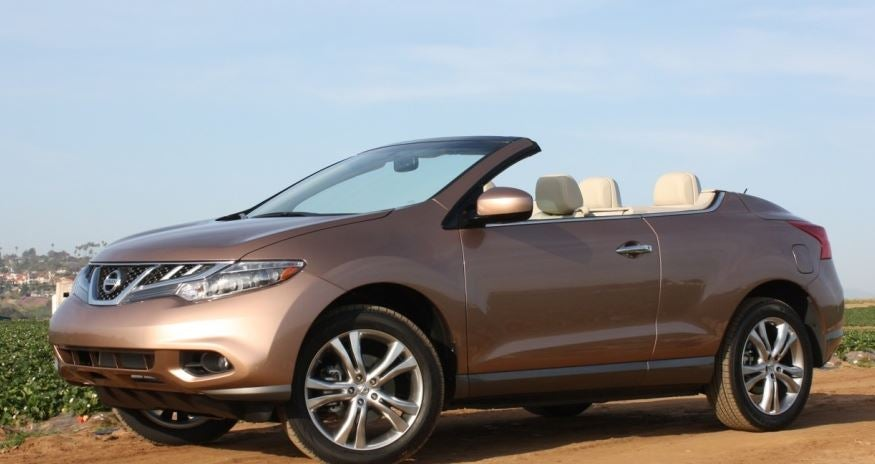 Nissan Murano descapotable.