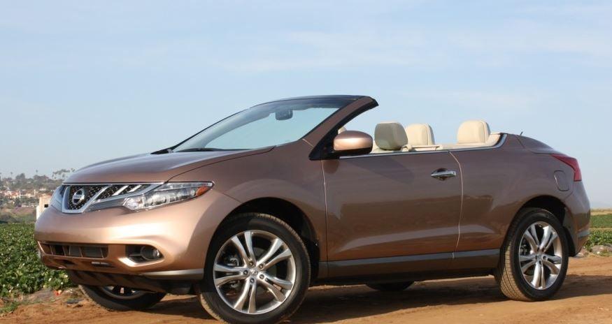 Nissan Murano descapotable.