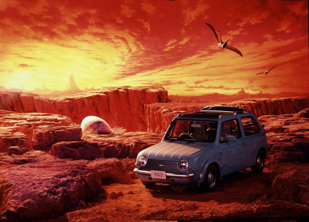 Nissan Pao, el añorado y limitado utilitario de diseño retro