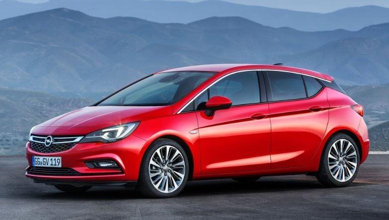 Opel Astra 2018.