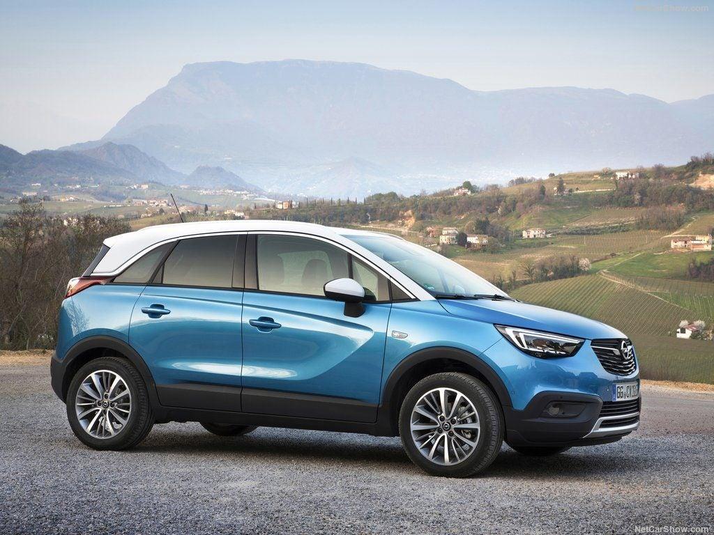 Opel Crossland X Euro NCAP