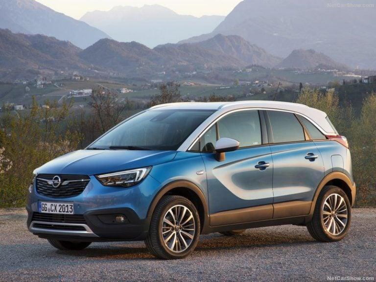 Opel Crossland X: la nueva era de los SUV de Opel