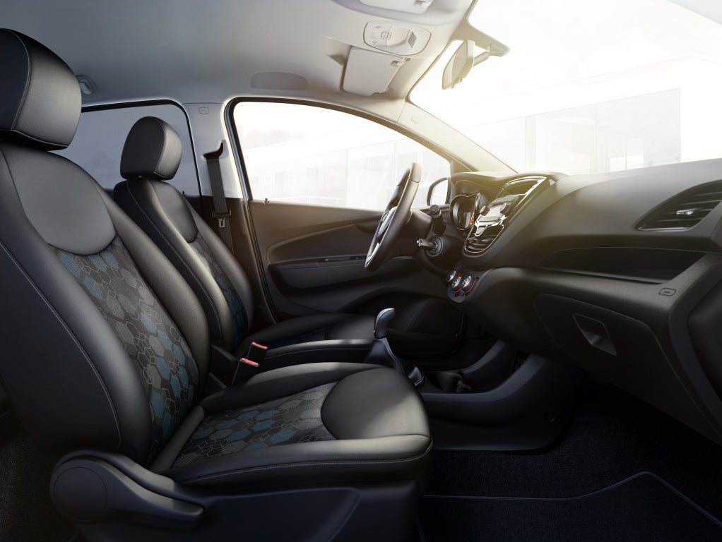 Opel Karl Rocks: interior