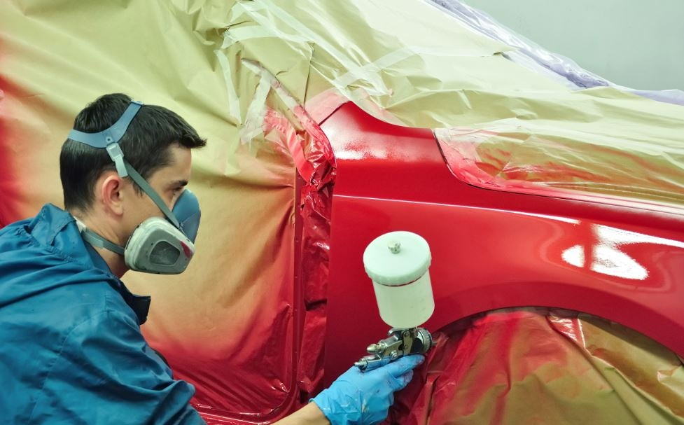 Pintar tu coche.