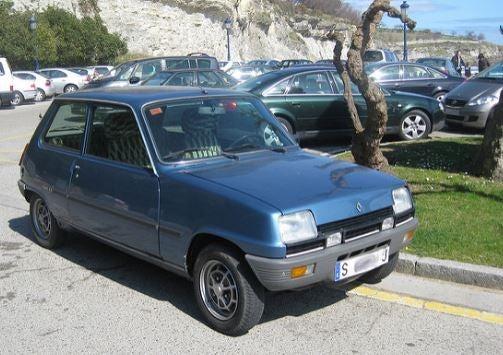 Renault 5 de Amancio Ortega.
