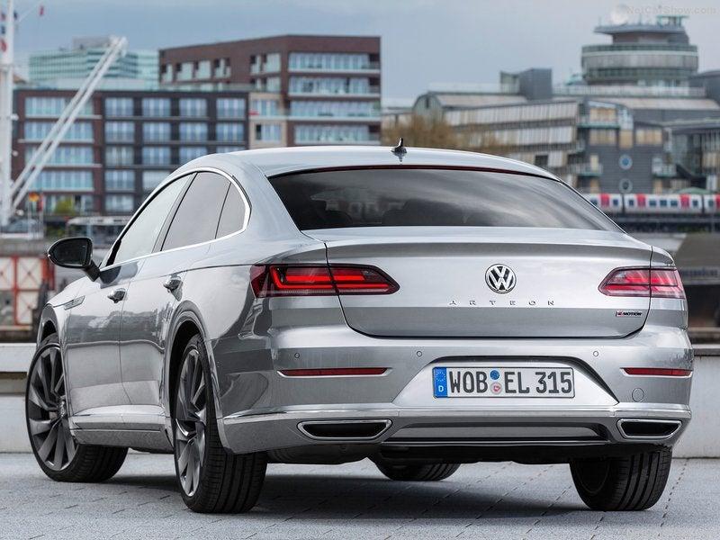 Volkswagen Arteon: trasera