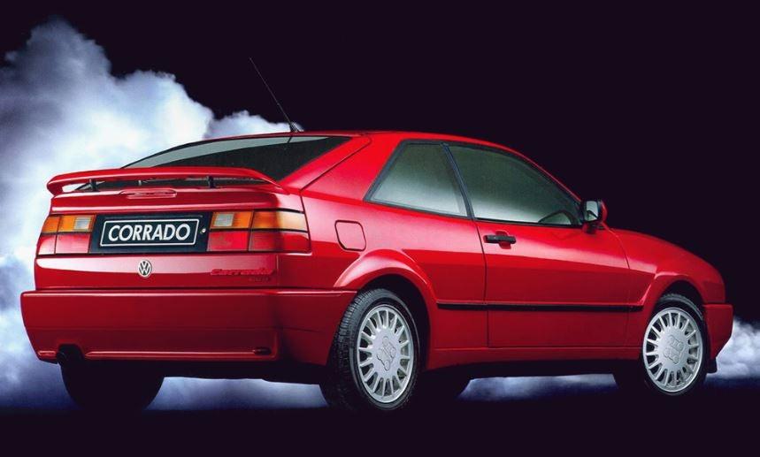 Volkswagen Corrado exterior.