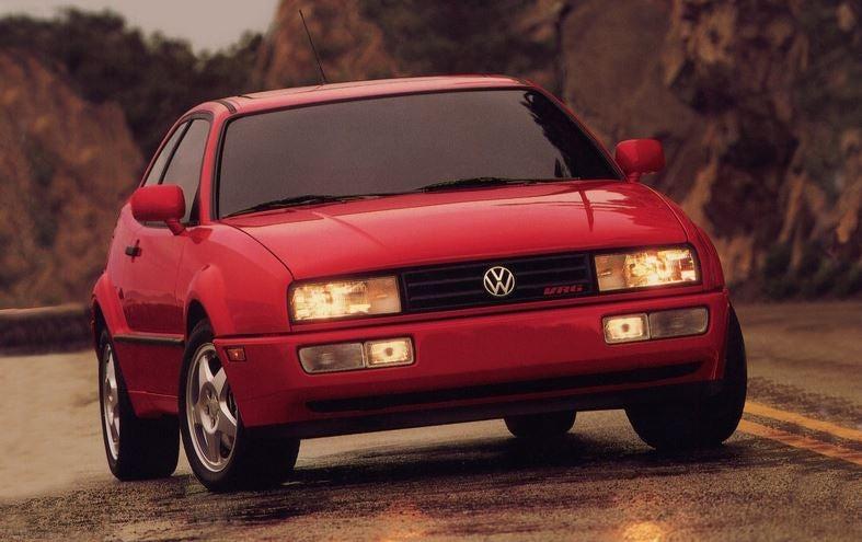 Volkswagen Corrado de frontal.