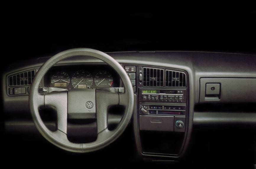 Volkswagen Corrado, interior.