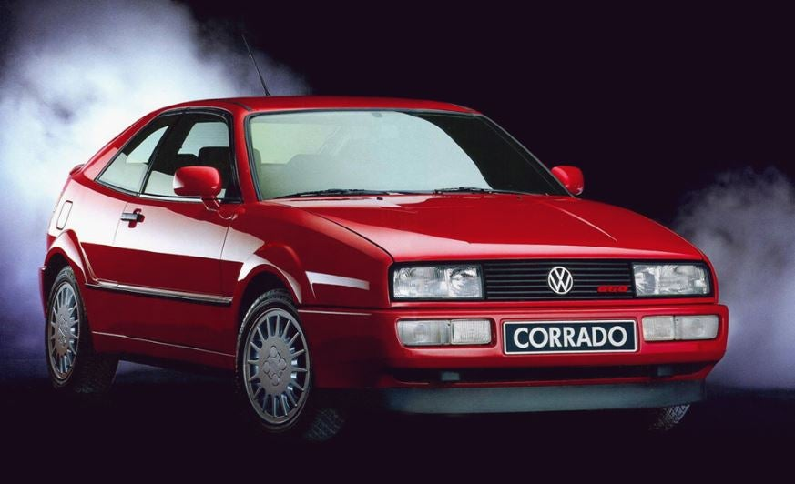 Volkswagen Corrado, un deportivo con crisis de identidad