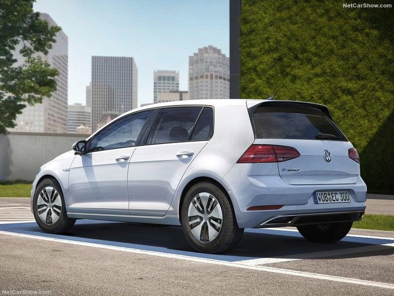 Volkswagen e-Golf eléctrico: trasera