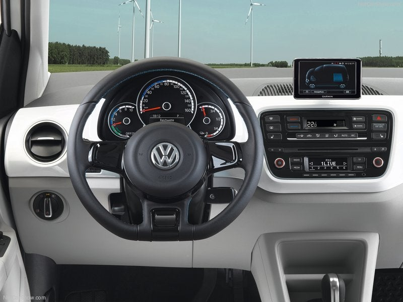 Volkswagen e-Up! eléctrico: interior
