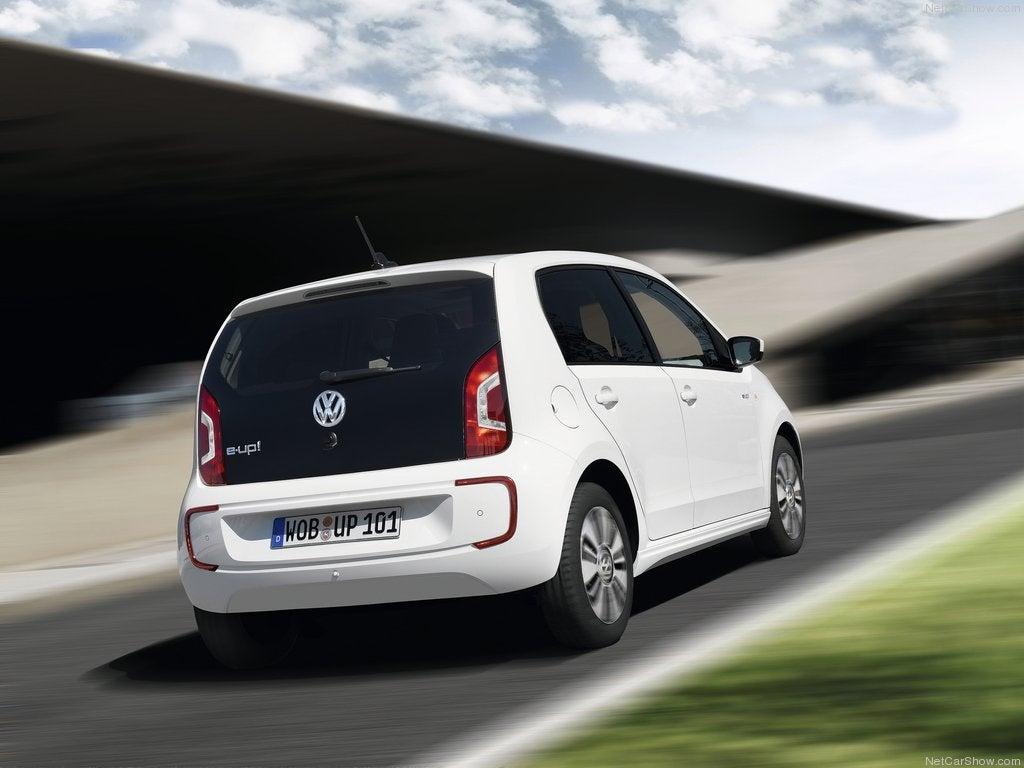 Volkswagen e-Up! eléctrico: trasera