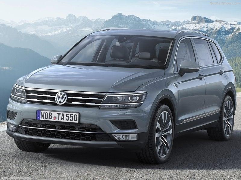 Volkswagen Tiguan Allspace: frontal