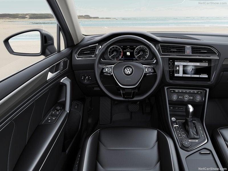 Volkswagen Tiguan Allspace: interior