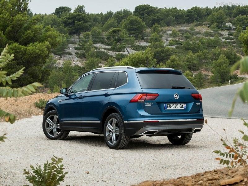 Volkswagen Tiguan Allspace: trasera