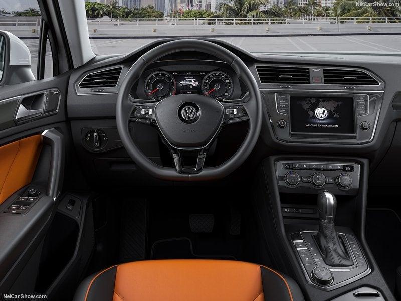 Volkswagen Tiguan: interior