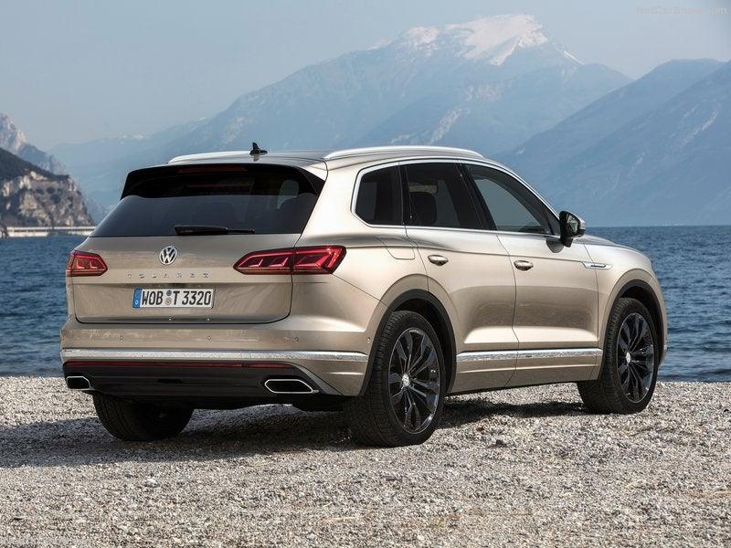 Volkswagen Touareg: trasera