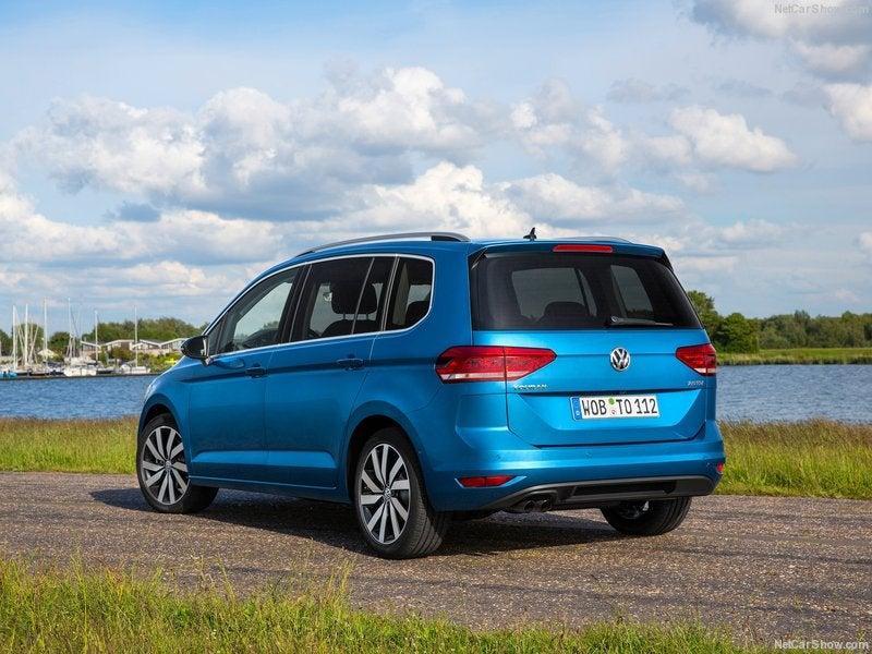 Volkswagen Touran: trasera