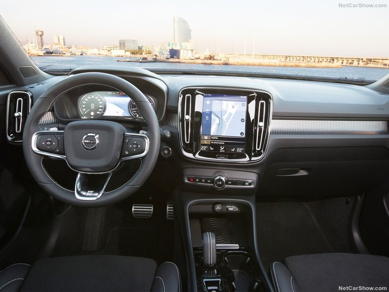 Volvo XC40: interior