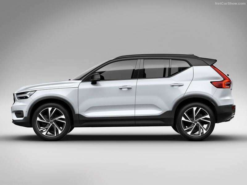 Volvo XC40: lateral
