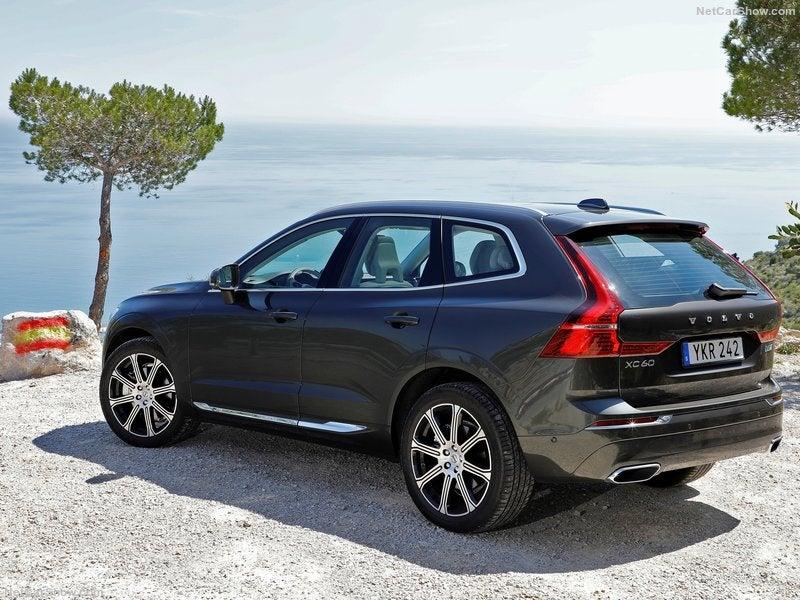 Volvo XC60: trasera