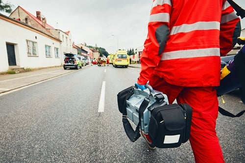 Accidentes de tráfico en ciudad