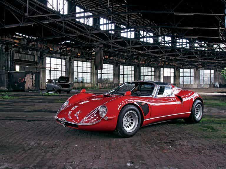 Alfa Romeo Tipo 33 Stradale, ¿el deportivo más bello de la historia?