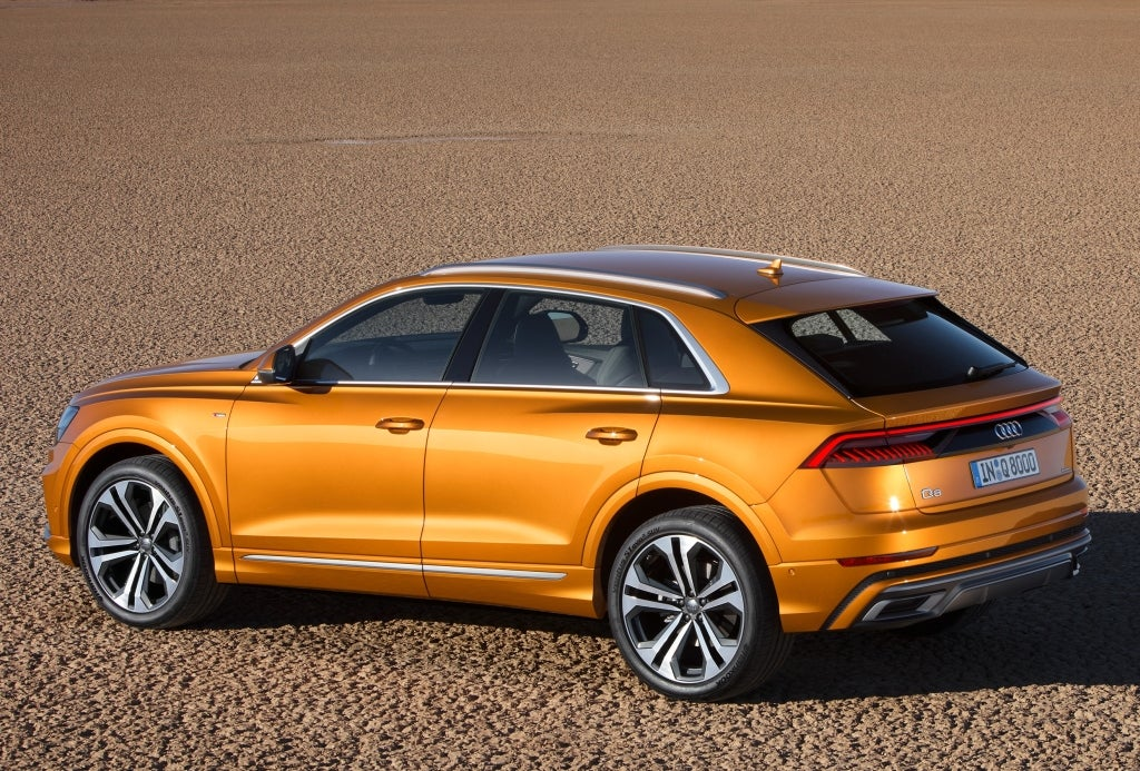 Audi Q8: lateral
