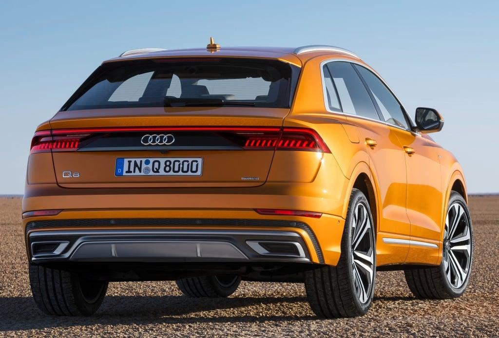 Audi Q8: trasera