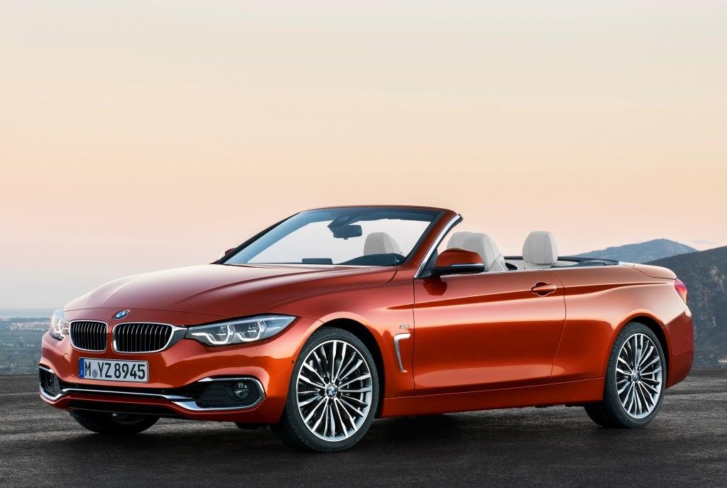 BMW Serie 4 Cabrio: frontal