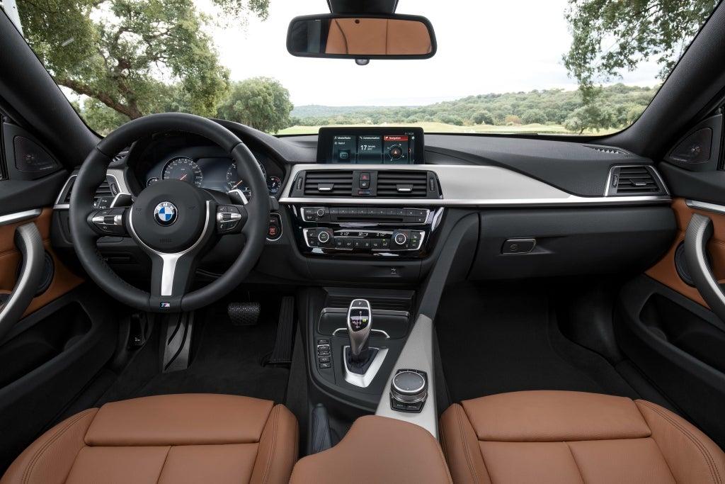 BMW Serie 4: interior