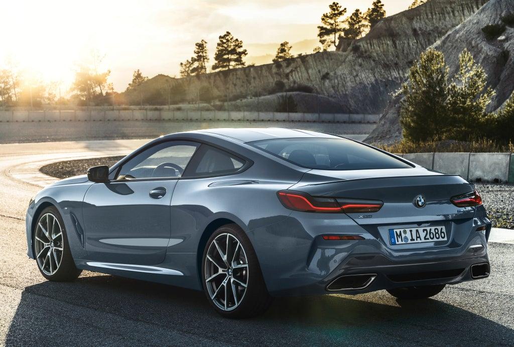 BMW Serie 8: trasera