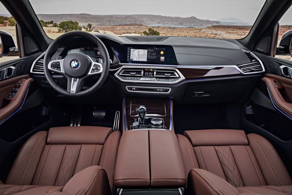 BMW X5: interior