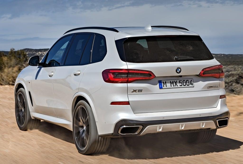 BMW X5: trasera