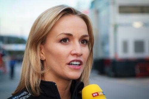 La piloto española Carmen Jordá