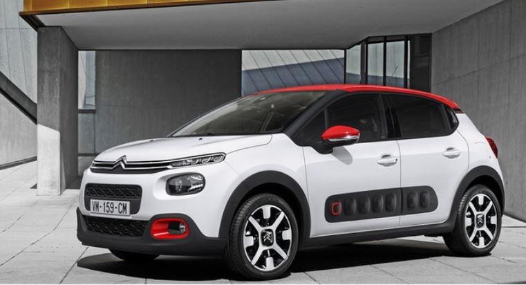 Citroën C3: frontal