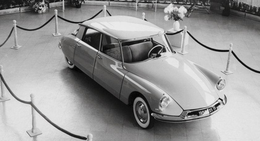 Citroën DS, el tiburón