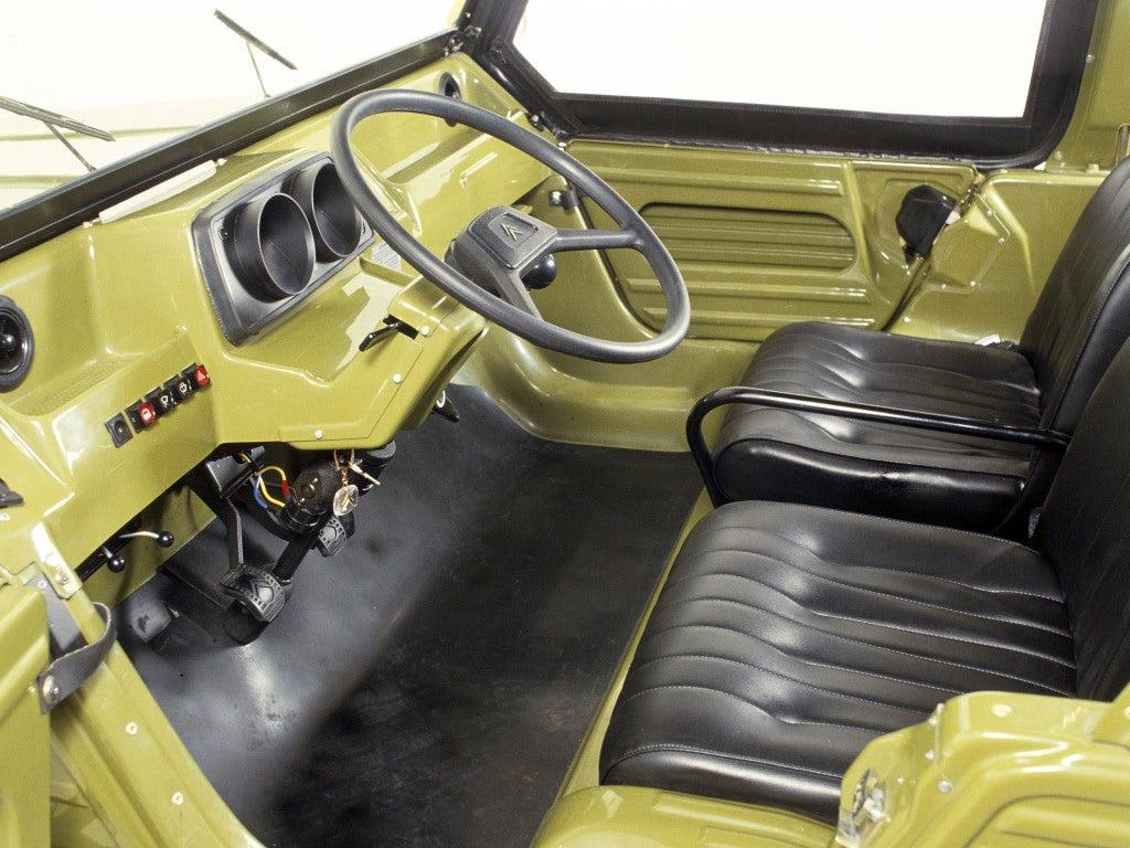 Citroën Méhari: interior