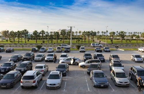 Daños del vehículo en parking